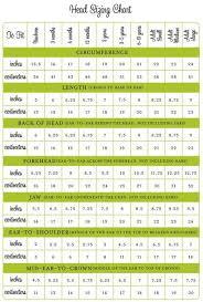 Average Head Size Chart Average Head Size Chart Crochet Hats Crochet Beanie Knitting