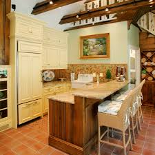 Two Level Kitchen Island Imaginative Two Level Counter Kitchen Rustic With Stone Island