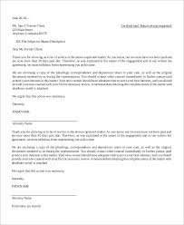 10 Letter Of Termination Samples Sample Templates