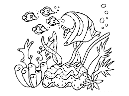 Free Printable Sea Coloring Pages For Kids With Excellent Oceans