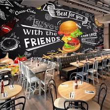 fast food restaurant wallpaper cafe