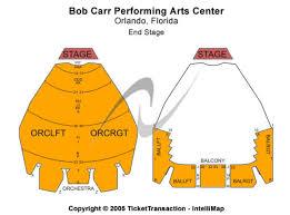 Bob Carr Performing Arts Centre Tickets In Orlando Florida