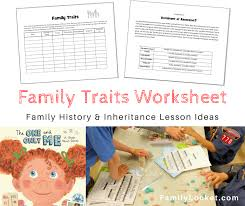 The One And Only Me Family Traits Book Lesson Ideas