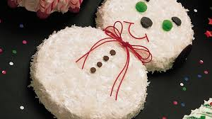 Snowman Cake Recipe Bettycrockercom