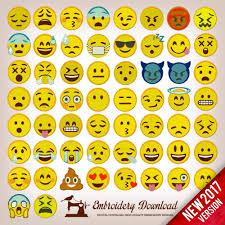 Emoji Embroidery Designs Emoticons Emoji Pack 58 Embroidery Designs Emboridery