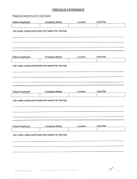 Free Fill In Resumes Printable Free Printable Fill In The Blank Resume Templates] 100 Images Best 38