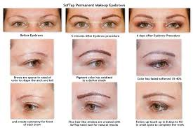 Softap Color Chart Softap Permanent Makeup Hand Method For Eyebrows By Linda