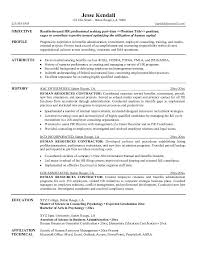 Writing Resume Objective Human Resources Resume Objective Examples Tomyumtumweb 94