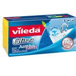 Купить <b>Губка VILEDA Glitzi</b> Jambo (<b>Глитци</b> Джамбо) для ванной ...