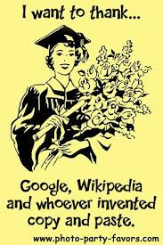 Funny Graduation Quotes Gorgeous Funny Graduation Cartoon I Want To ThankGoogle Wikipedia And