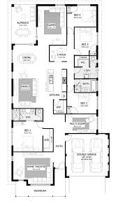 Small 4 Bedroom House Plans 4 Bedroom House Plans Home Designs Celebration Homes Floorplan