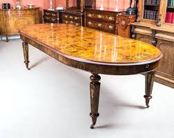 stunning bespoke handmade burr walnut marquetry dining table 10 handmade dining tables handmade dining tables scotland