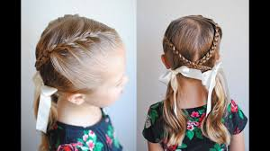 How To French Braid Braids Into Pigtails Qs Hairdos