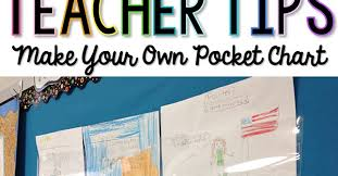 Make Your Own Pocket Chart Classroom Tested Resources