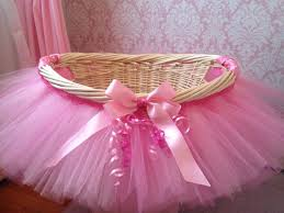 Items similar to Tutu Basket, Tutu Gift Basket, Tutu Baby Shower Basket,  tutu Easter Basket, Newborn Photo Prop Basket on Etsy