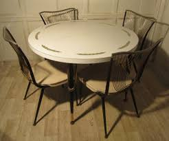 antiques atlas 1960 70s retro round formica table and 4