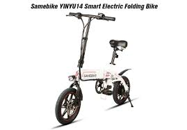 <b>Samebike YINYU14 Smart Folding</b> Bicycle Moped Offered For $499.99
