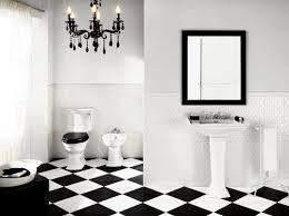... Opulent Ideas Black And White Tile Floor Bathroom 4 BiancoNero Black  White Floor Tile Deco Classico ...
