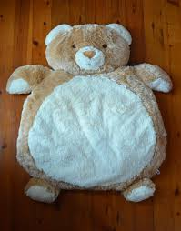 new large teddy bear rug mat newborn baby shower gift boy or girl present 9332030154622