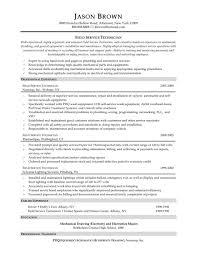 Industrial Maintenance Mechanic Resume Example Resumes Objective