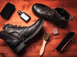 how to clean leather shoes and boots