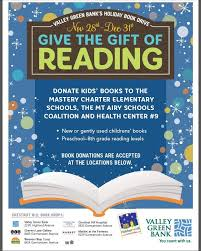 book donation flyer