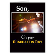 son graduation day diploma card 3733 son graduation day diploma card