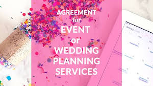 Event And Wedding Planner Contract Template