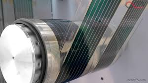 organic solar cells by infinitypv fast roll to roll r2r printing coating