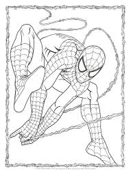 The Amazing Spider Man Coloring Pages 488websitedesigncom