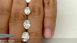 Engagement Ring Diamond Size Chart Oval Shape Diamond Size Compare On Hand 1ct Upto 2ct