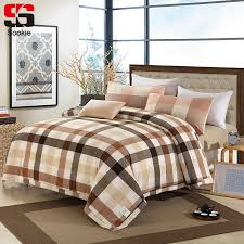 Sookie Summer 100% Cotton Quilted Bedspread Plaid Print Air ... & Sookie Summer 100% Cotton Quilted Bedspread Plaid Print Air Conditioning  Quilt Sofa Bed Thin Comforter Duvet Blanket Cover -in Quilts from Home &  Garden on ... Adamdwight.com