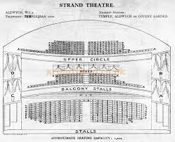 Novello Theatre Seating Chart The Novello Theatre Aldwych London W C 2