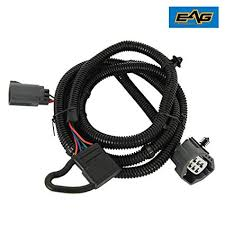 amazon com eag 07 18 jeep wrangler jk 67 trailer hitch wiring eag 07 18 jeep wrangler jk 67 quot trailer hitch wiring harness kit single