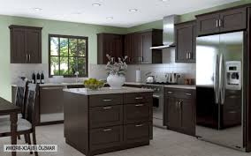 white granite countertop double bowl sink light stained wood cabinets brown color wooden large fancy black