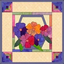 Paper Piecing Flower Paper Pieced Flower Barca Fontanacountryinn Com