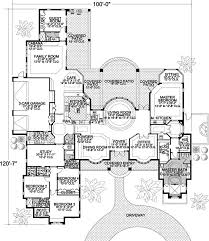 Contemporary Style House Plans   5318 Square Foot Home , 1 Story, 5 Bedroom  And 4 Bath, 3 Garage Stalls By Monster House Plans   Plan This Really Would  Be A ...
