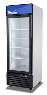 migali 1 glass door merchandiser refrigerator c23rm 1195