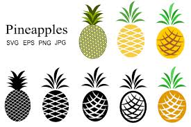 Free pineapple vector download in ai, svg, eps and cdr. Pineapple Graphics Graphic By Artbyliz Creative Fabrica