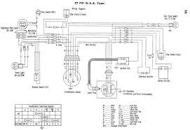 nx wiring diagram honda nx650 wiring diagram of the electrical system 59296 1969 1970 1971 honda ct70 mini trail