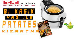 Tefal actifry genius ile patates kızartması l Tefal fritöz l Fritöz ile  patates kızartması - YouTube