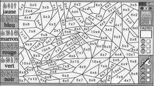 Coloriage Magique Multiplication Cm1 Cm2 Coloriage Magique