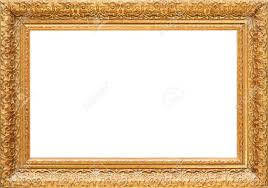 antique frame. Antique Wooden Gold Frame, Intricately Carved Stock Photo - 3222454 Frame