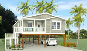 raised house plans. Raised House Designs Plan Exterior Rendering Of Home Model On Contemporary Beach . Plans