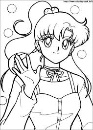 Small Picture Sailor Moon coloring pages on Coloring Bookinfo