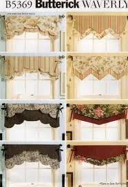 waverly reversible valance sew pattern window curtain