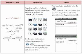 chart quadratic equation solving problems with quadratic functions calculator