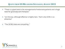 Ipi Quote Impressive Clinical Stage Cancer Immunotherapy Ppt Video Online Download
