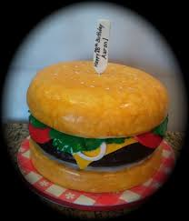 Burger Cake Design Cheeseburger Paradise 3d Sculpted Cake Created By Sweet