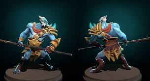 dota 2 phantom lancer ancient warrior polycount